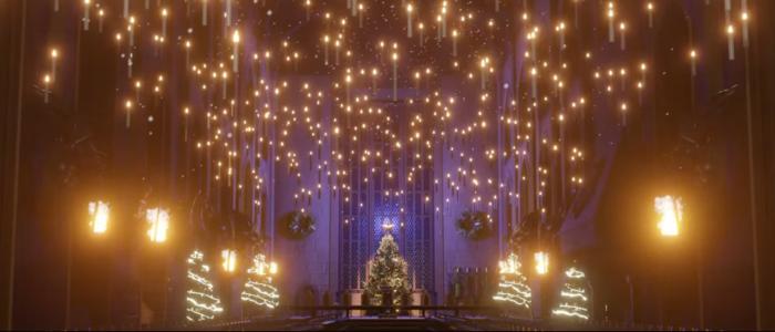 Illuminez la Grande Salle pour Noël et envoyez un message magique
