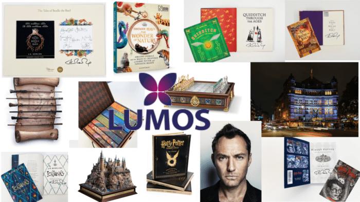 De nombreux lots Harry Potter aux enchères pour Lumos