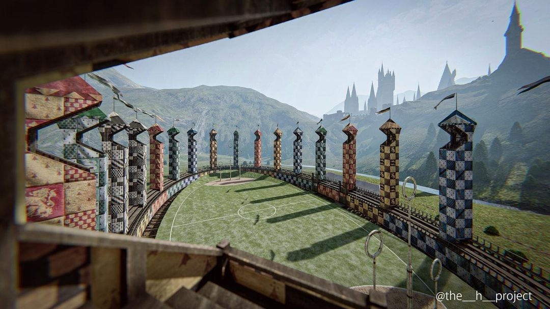 Terrain de quidditch par The H Project