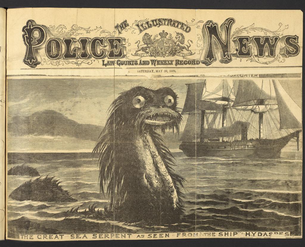 Journal de Richard Owen, scientifique doutant de l'existence du serpent de mer - fantastic beasts - wonders of nature