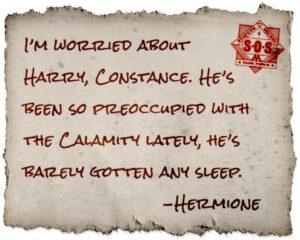 Wizard Unite Note de Hermione