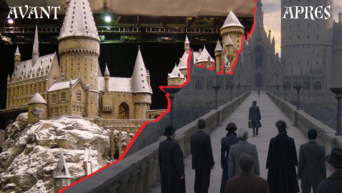 Poudlard à travers les âges – le château au fil des films Harry Potter