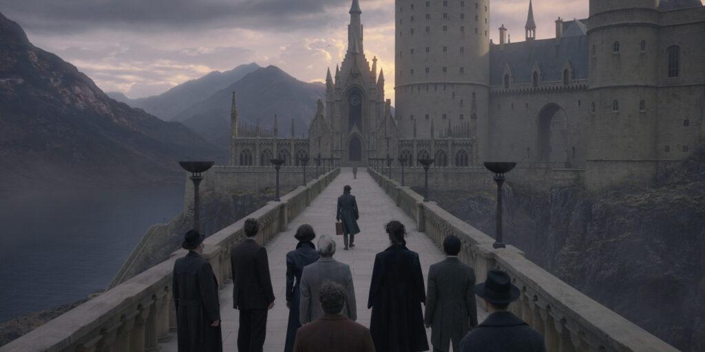 Le viaduc de Poudlard dans Les Animaux Fantastiques: Les Crimmes de Grindelwald