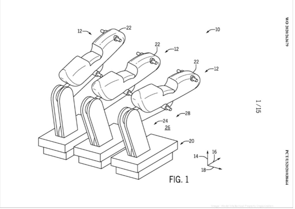 Le schéma de dépôt de brevet pour une attraction Harry Potter supposée à Universal Epic Universe