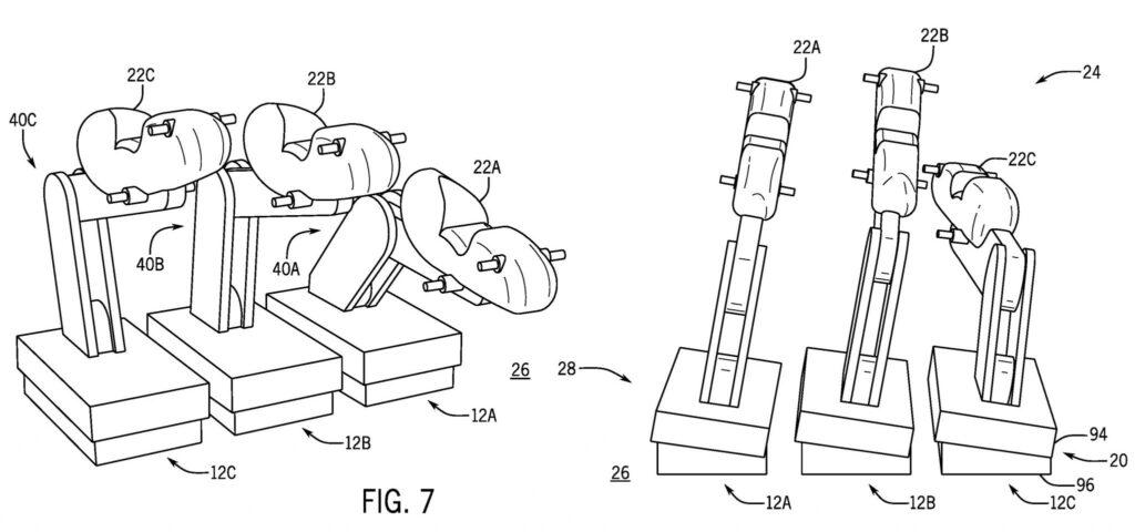 Le schéma de dépôt de brevet pour une attraction supposée à Universal Epic Universe