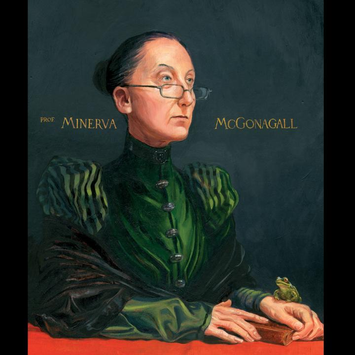 Minerva McGonagall dans Harry Potter illustré par Jim Kay