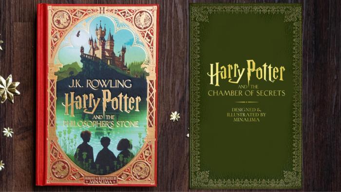 MinaLima annonce une date de sortie pour la version illustrée de Harry Potter et la Chambre des secrets
