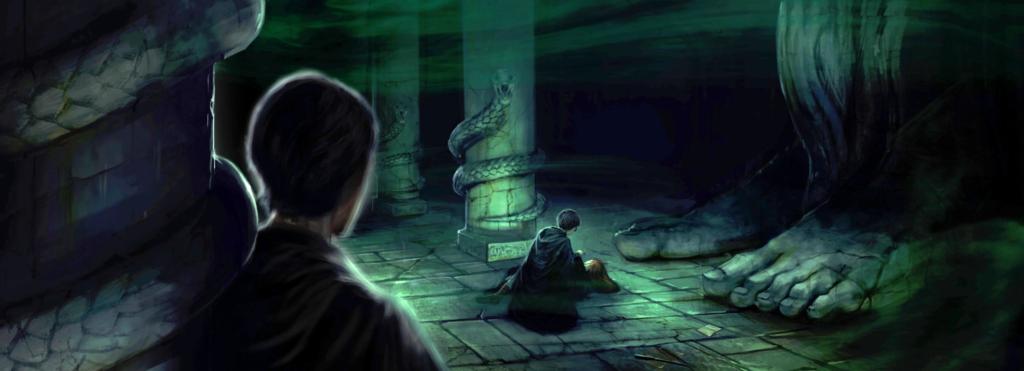 La Chambre des Secrets, illustration de Pottermore