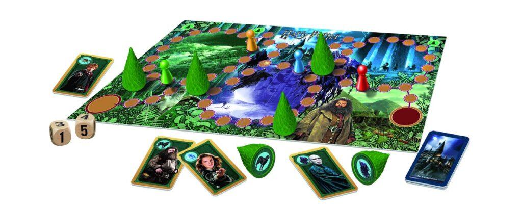 Plateau du jeu Sagaland Harry Potter, chez Ravensburger