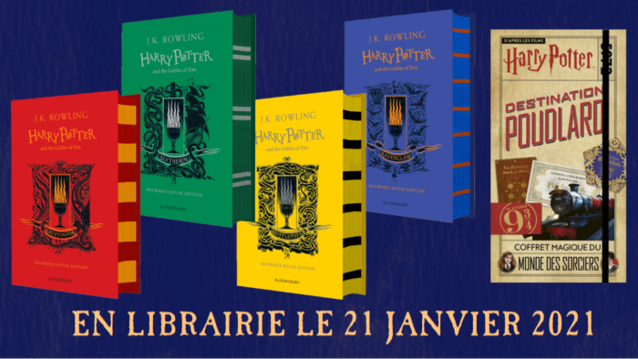 L'édition 4 maisons de Harry Potter et la Coupe de feu arrive en France