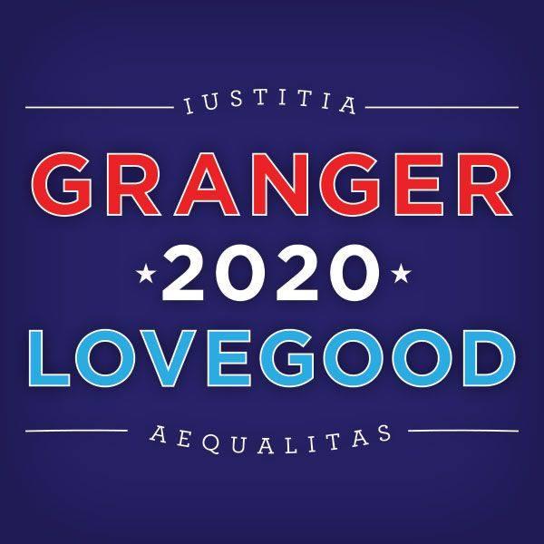Logo de la campagne Granger-Lovegood dans la Harry Potter Alliance pour encourager la mobilisation électorale