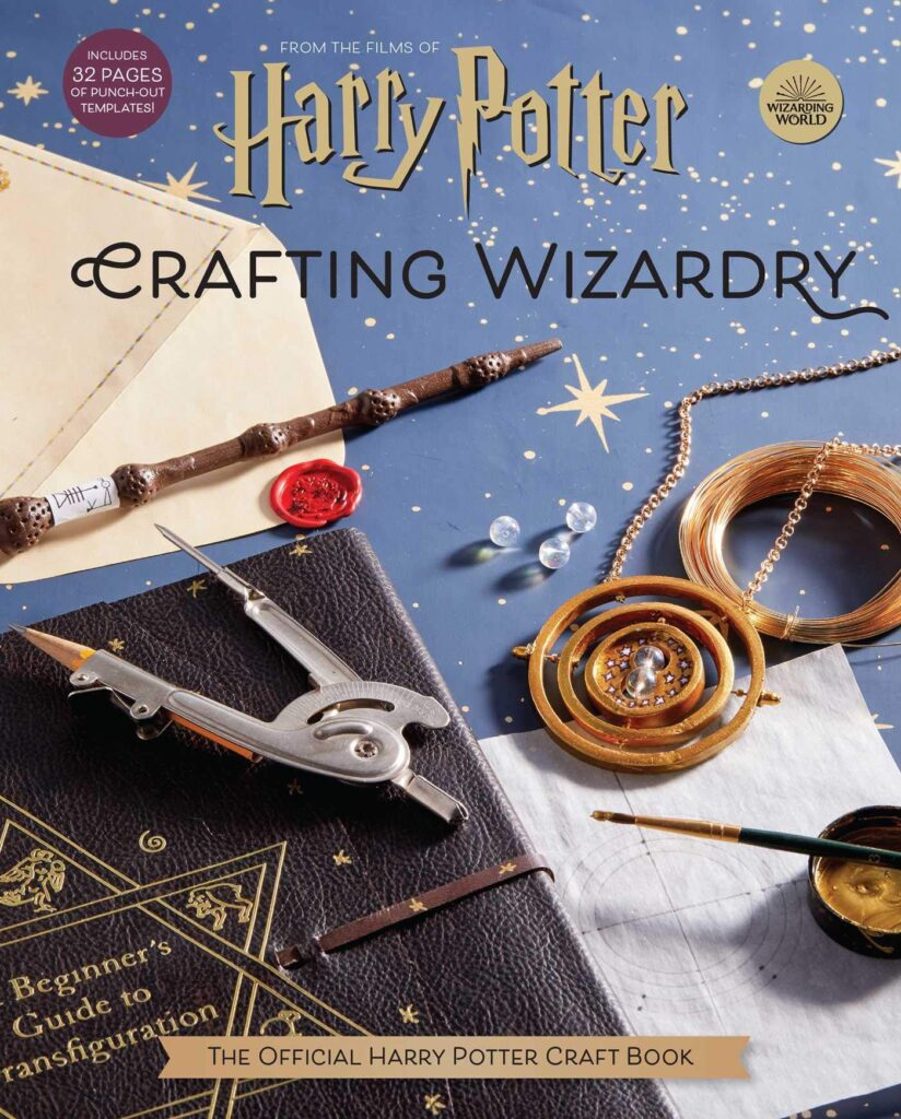 "Couverture du livre ""Harry Potter Crafting Wizardry"""