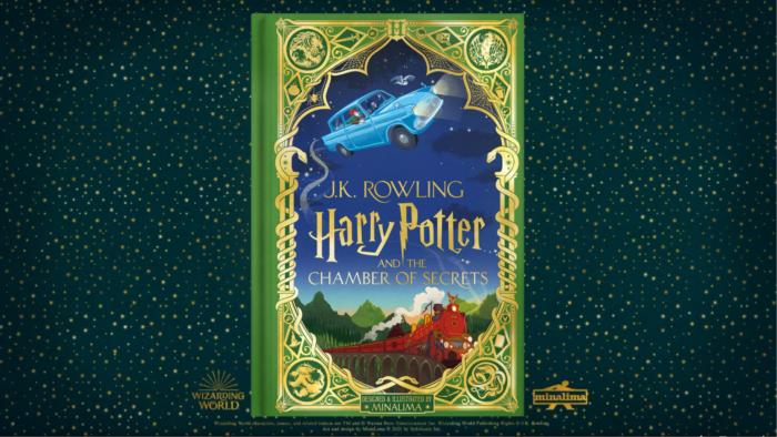Harry Potter et la Chambre des secrets par Minalima – premier aperçu !
