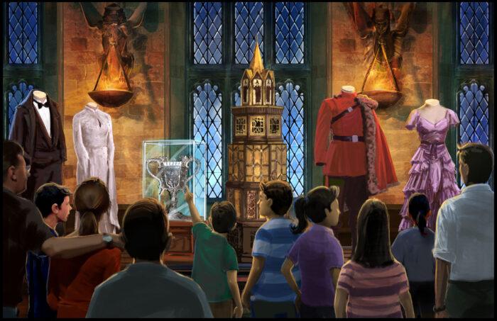 Inauguration de l'exposition Harry Potter : Compte-rendu