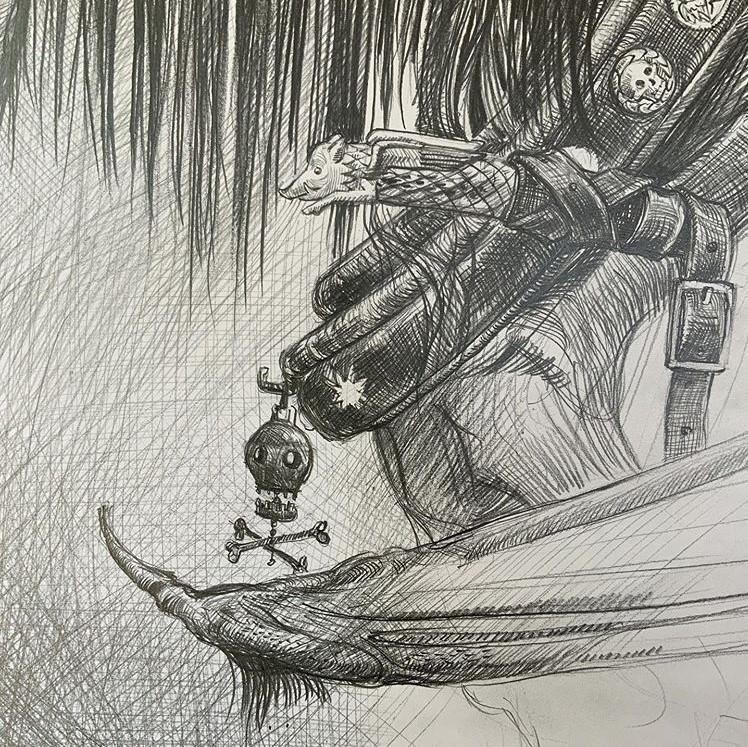 Harnais de sombral, Jim Kay