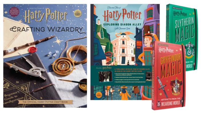 Insight Editions annonce 4 nouveaux livres Harry Potter