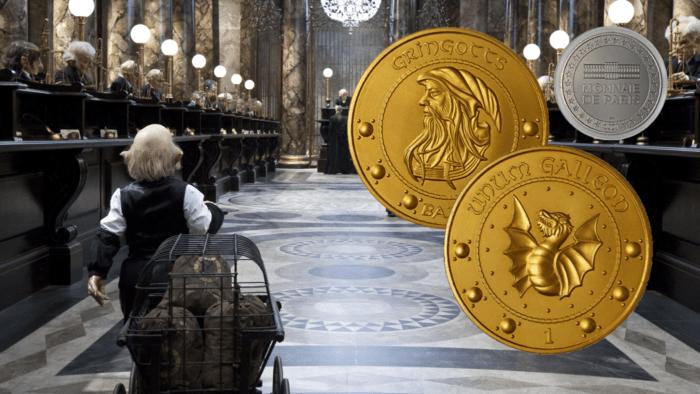 La Monnaie de Paris frappe une pièce de un Gallion pour les fans de Harry Potter !