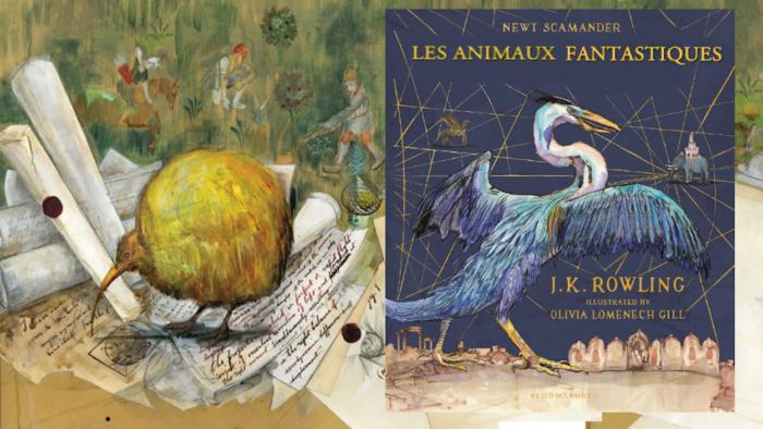 Top des illustrations fantastiques – Les Animaux fantastiques illustré