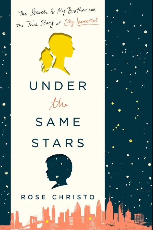 """Couverture prévue pour le livre """"Under the Same Stars"""" de Rose Christo."""