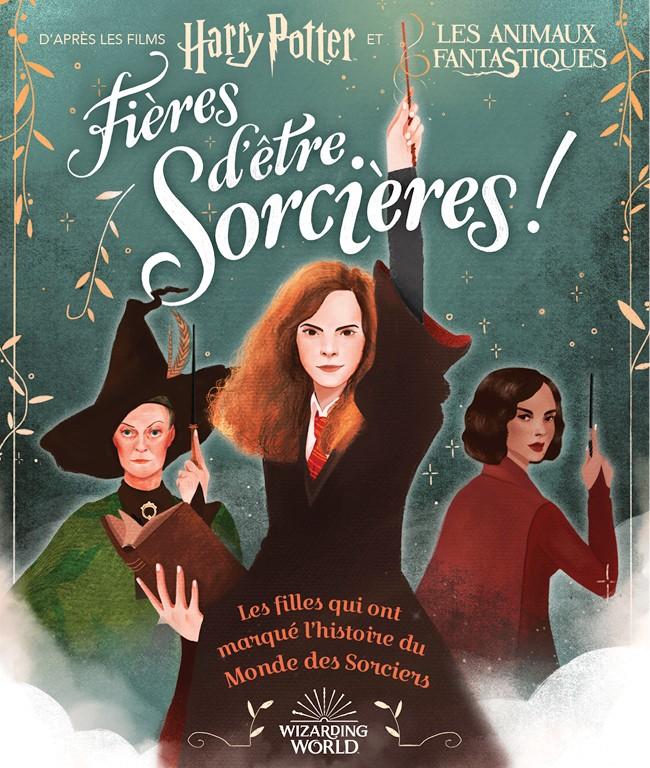 Couverture française Fières d'être sorcières