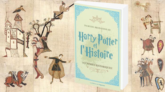 Remonter le temps avec le livre <i> Harry Potter et l'Histoire </i>