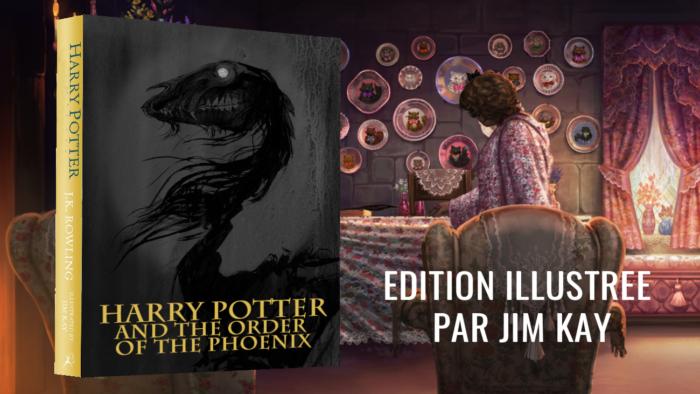 Jim Kay n'a pas encore terminé Harry Potter et l'ordre du phénix [MàJ]