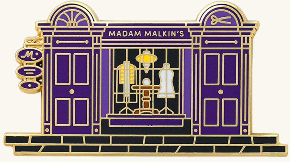Pin Façade Madame Guipure Wizarding World