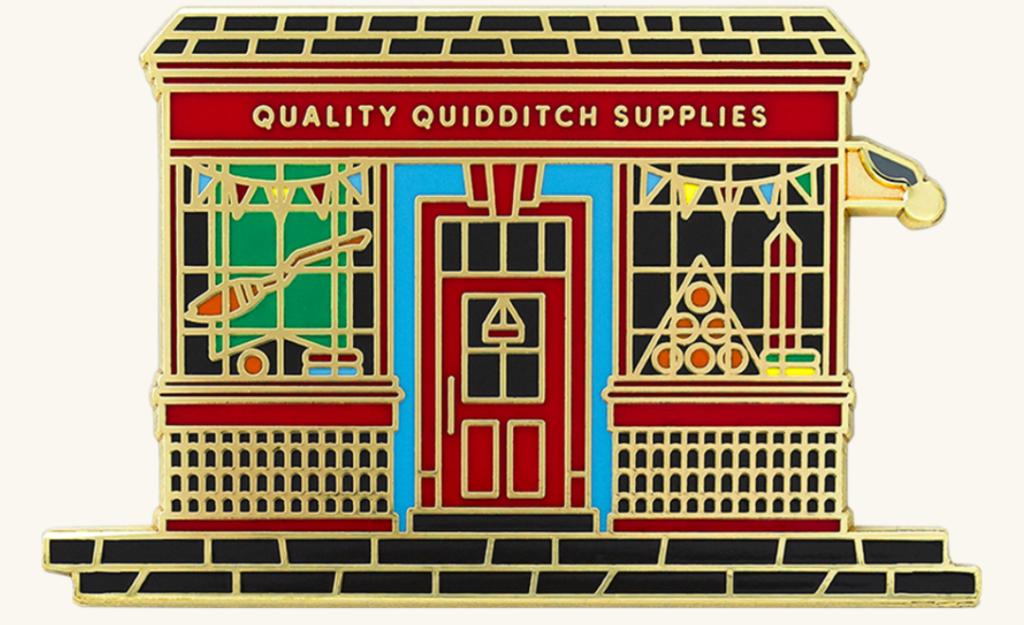 Pin Façade Magasin de Quidditch Wizarding World