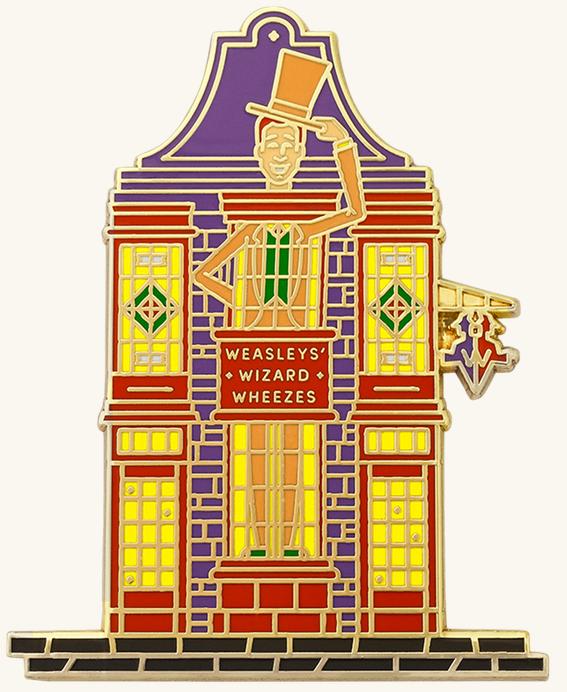 Pin Façade Weasley Farces pour sorciers facétieux Wizarding World