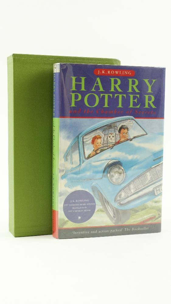 Première édition de Harry Potter and the Chamber of Secrets vendue par Fonsie Mealy Auctionneers