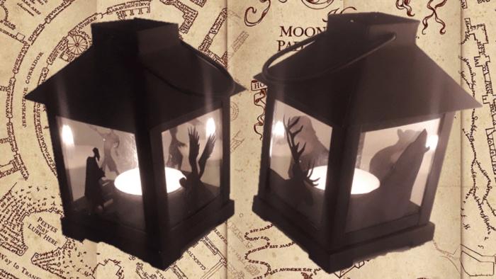 Tutoriel – Lampe magique des Maraudeurs
