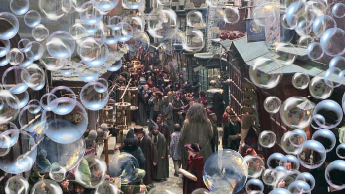Tempête de bulles sur le Chemin de Traverse !