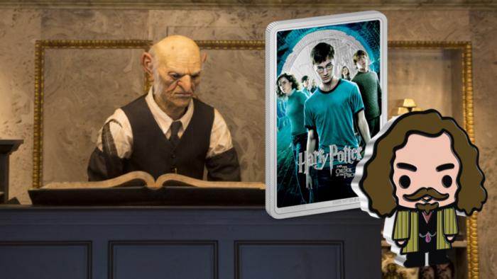 Nouvelles pièces de monnaie Harry Potter en Nouvelle-Zélande