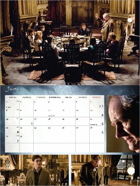 Plusieurs photographies de Slughorn. Club de Slug, Harry dans le bureau de Slughorn.