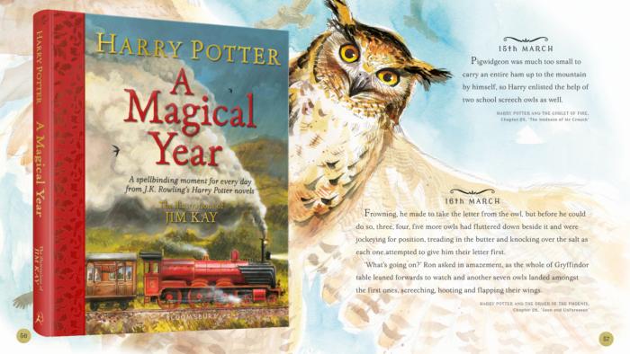 Sortie de Harry Potter – A Magical Year, illustré par Jim Kay