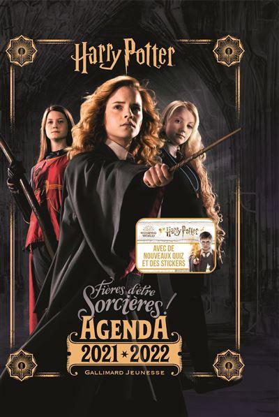 Agenda Harry Potter Gallimard 2021-2022 Fières d'être sorcières