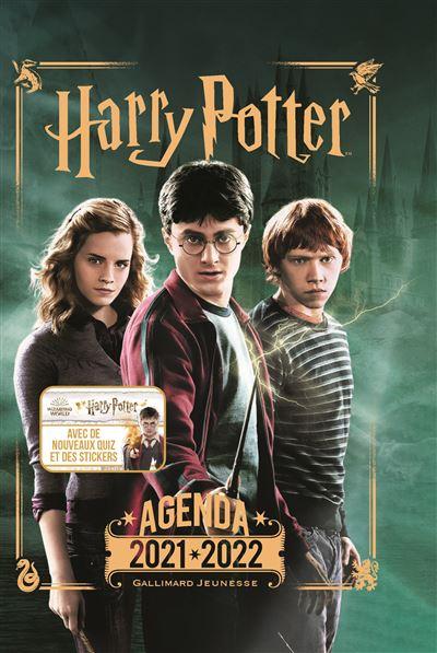 Agenda Harry Potter Gallimard 2021-2022 Harry, Ron et Hermione