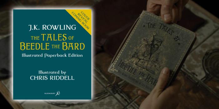 L'édition illustrée des Contes de Beedle le Barde arrive au format broché