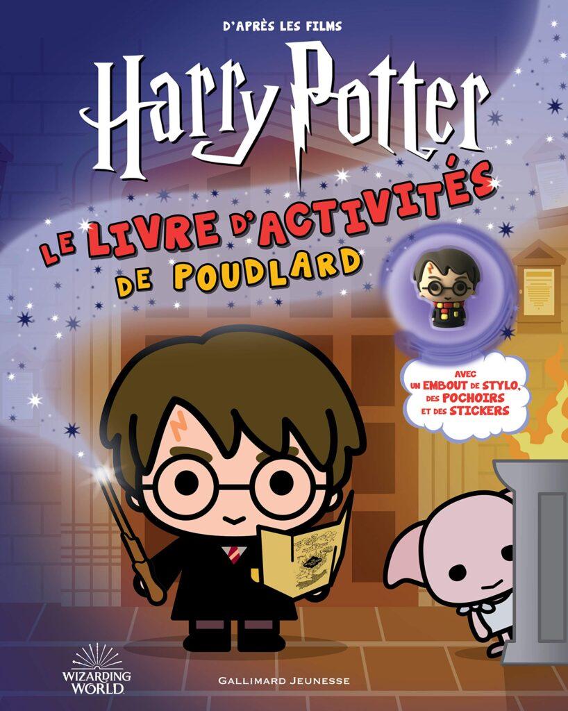 Livre d'activités à Poudlard Harry Potter Gallimard
