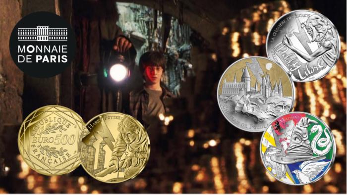 La Monnaie de Paris lance une nouvelle collection de pièces Harry Potter