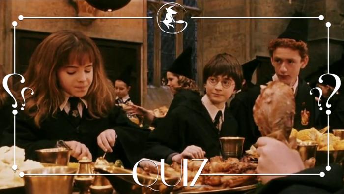 Quiz : la nourriture dans Harry Potter