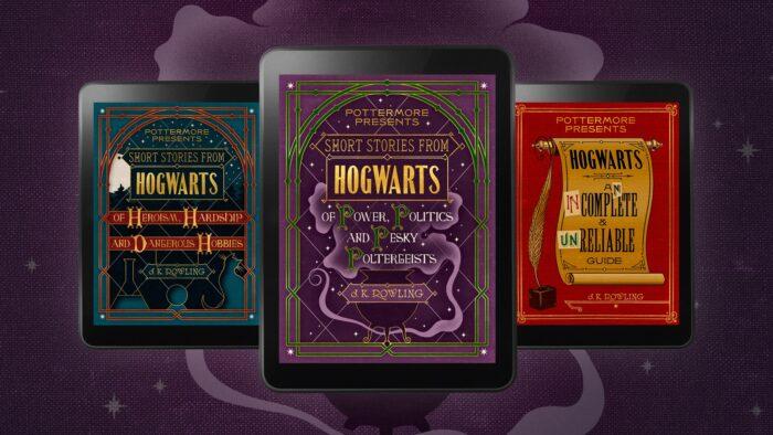 Le contenu inédit des eBooks de Pottermore.