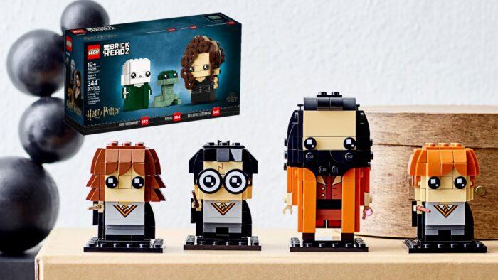 LEGO complète la collection BrickHeadz Harry Potter