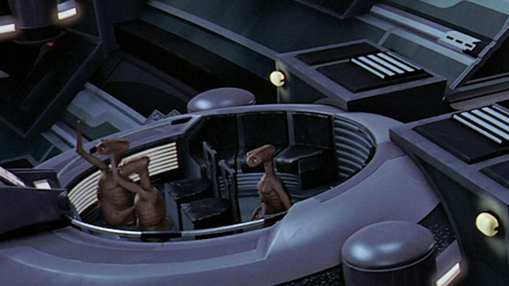 Les extraterrestre de E.T. dans Star Wars