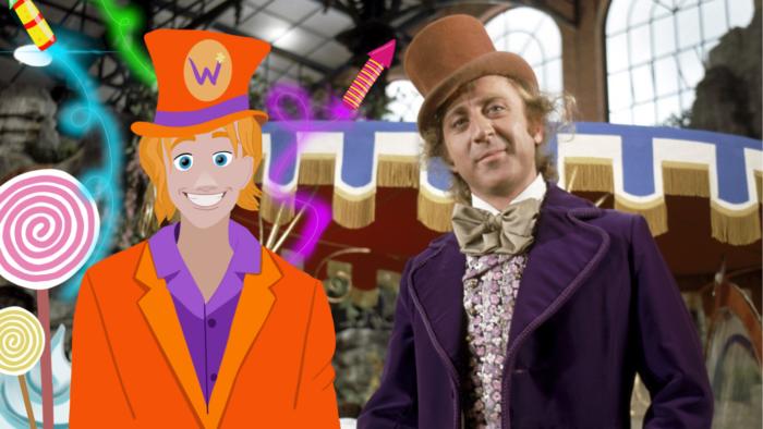 Headcanon – George Weasley est devenu Willy Wonka