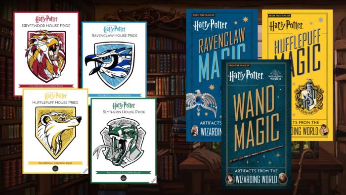 Une multitude de nouveautés Harry Potter chez Insight Editions