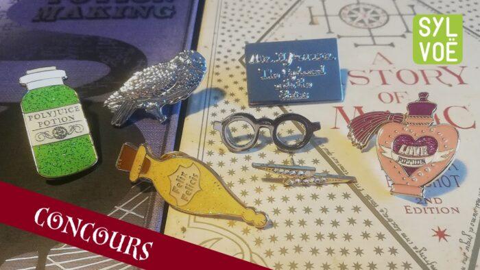 Nouvelle gamme de pin's Harry Potter chez Sylvoë + concours !