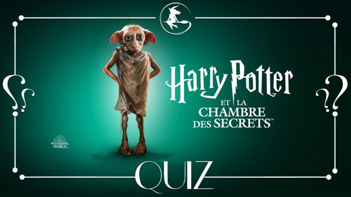 Quiz : Harry Potter et la Chambre des Secrets à la télé