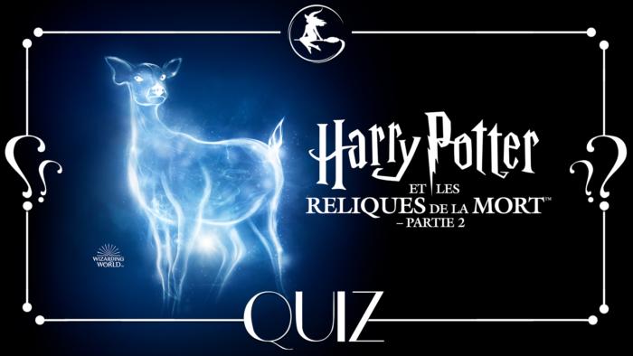 Quiz : Harry Potter et les reliques de la mort, partie 2
