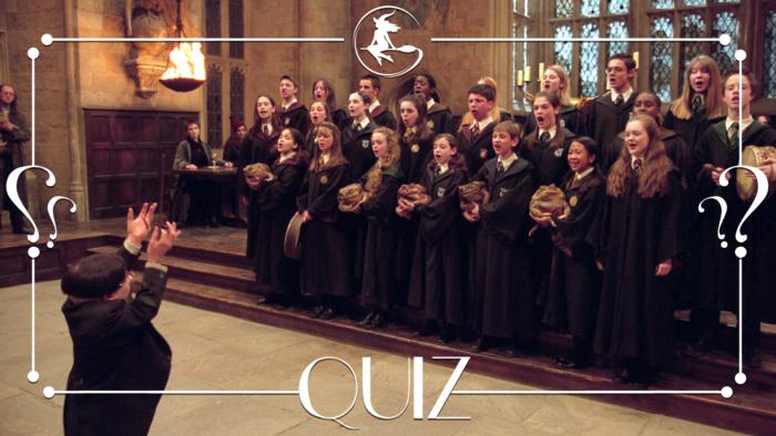 Quiz : La musique dans Harry Potter